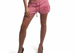 YAKUZA GSSB 16148 Backside Sweat Shorts wild rose1