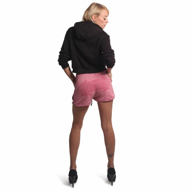 YAKUZA GSSB 16148 Backside Sweat Shorts wild rose6