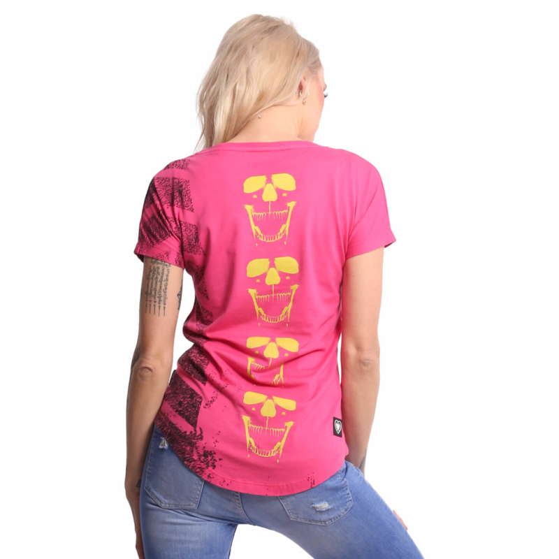 YAKUZA-GSB18135-Lighting-Skull-Dye-VNeck-Shirt-rosered-amazon3.jpg